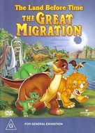 The Land Before Time X: The Great Longneck Migration - Australian Movie Cover (xs thumbnail)