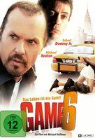 Game 6 - German DVD movie cover (xs thumbnail)