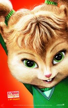 Alvin and the Chipmunks: The Squeakquel - Ukrainian Movie Poster (xs thumbnail)