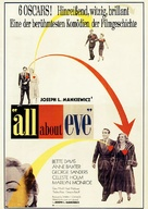 All About Eve - German Re-release poster (xs thumbnail)