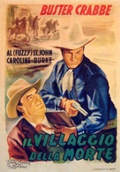 The Mysterious Rider - Italian Movie Poster (xs thumbnail)