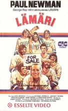 Slap Shot - Finnish VHS movie cover (xs thumbnail)