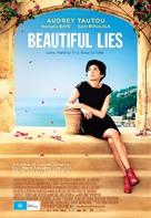 De vrais mensonges - Australian Movie Poster (xs thumbnail)