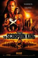 The Scorpion King - Advance movie poster (xs thumbnail)