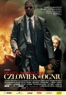 Man On Fire - Polish Movie Poster (xs thumbnail)