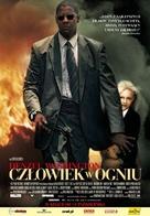 Man on Fire - Polish Movie Poster (xs thumbnail)