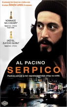 Serpico - Slovak VHS movie cover (xs thumbnail)