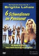 Sechs Schwedinnen im Pensionat - German Movie Cover (xs thumbnail)