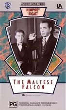 The Maltese Falcon - Australian VHS cover (xs thumbnail)