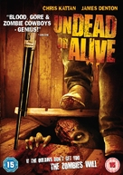 Undead or Alive - British Movie Cover (xs thumbnail)