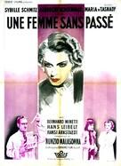 Die Frau ohne Vergangenheit - French Movie Poster (xs thumbnail)