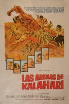 Sands of the Kalahari - Spanish Movie Poster (xs thumbnail)
