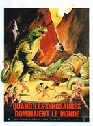 When Dinosaurs Ruled the Earth - French Movie Poster (xs thumbnail)