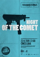 Night of the Comet - Spanish Movie Poster (xs thumbnail)