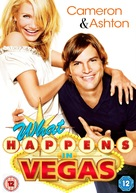 What Happens in Vegas - British DVD movie cover (xs thumbnail)