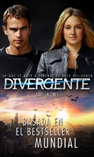 Divergent - Mexican Movie Poster (xs thumbnail)