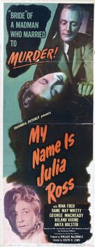 My Name Is Julia Ross - Theatrical poster (xs thumbnail)