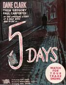 Five Days - British Movie Poster (xs thumbnail)