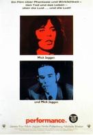 Performance - German Movie Poster (xs thumbnail)