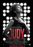 Judy - German Movie Poster (xs thumbnail)