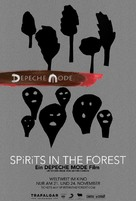 Spirits in the Forest - German Movie Poster (xs thumbnail)