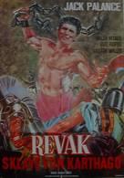 The Barbarians - German Movie Poster (xs thumbnail)