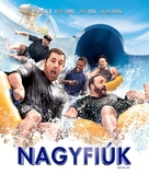 Grown Ups - Hungarian Blu-Ray cover (xs thumbnail)