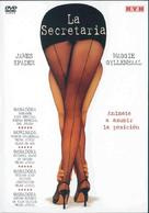 Secretary - Argentinian DVD cover (xs thumbnail)