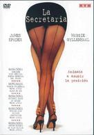 Secretary - Argentinian DVD movie cover (xs thumbnail)