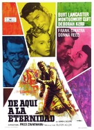 From Here to Eternity - Spanish Movie Poster (xs thumbnail)