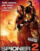 Spy Kids 2 - Norwegian Movie Poster (xs thumbnail)