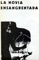 La novia ensangrentada - Spanish Movie Poster (xs thumbnail)