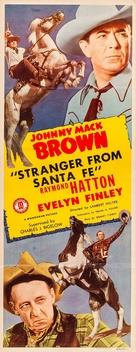 Stranger from Santa Fe - Movie Poster (xs thumbnail)