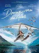 Donne-moi des ailes - French Movie Poster (xs thumbnail)