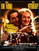 Falling in Love - French Movie Poster (xs thumbnail)