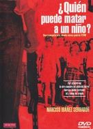 ¿Quièn puede matar a un niño? - Spanish DVD cover (xs thumbnail)