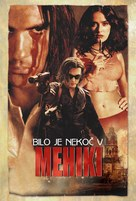 Once Upon A Time In Mexico - Slovenian Movie Poster (xs thumbnail)