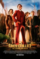 Anchorman 2: The Legend Continues - Theatrical movie poster (xs thumbnail)