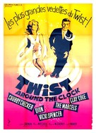 Twist Around the Clock - French Movie Poster (xs thumbnail)