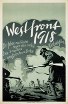 Westfront 1918 - Dutch Movie Poster (xs thumbnail)