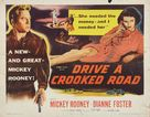 Drive a Crooked Road - Movie Poster (xs thumbnail)