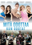 What to Expect When You're Expecting - Finnish DVD cover (xs thumbnail)