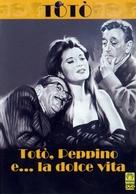 Totò, Peppino e la dolce vita - Italian DVD cover (xs thumbnail)