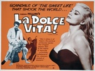 La dolce vita - British Movie Poster (xs thumbnail)