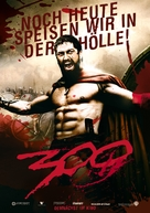 300 - German Movie Poster (xs thumbnail)