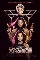 Charlie's Angels - Swedish Movie Poster (xs thumbnail)