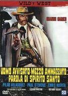 Uomo avvisato mezzo ammazzato... Parola di Spirito Santo - Italian Movie Cover (xs thumbnail)