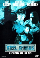 Steel Sharks - German DVD movie cover (xs thumbnail)