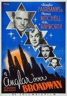 Angels Over Broadway - Swedish Movie Poster (xs thumbnail)