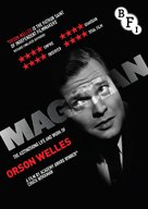 Magician: The Astonishing Life and Work of Orson Welles - British DVD cover (xs thumbnail)